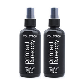 แพ็คคู่ Collection Primed & Ready Make Up Fixing Spray (100ml x 2)