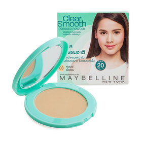 Maybelline Clear Smooth Pressed Powder #Natural
