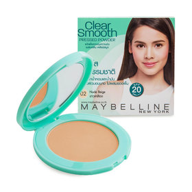 Maybelline Clear Smooth Pressed Powder #Nude Beige
