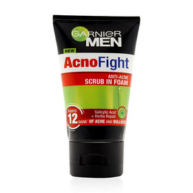 Garnier Men Acno Fight Acne Foam 100ml