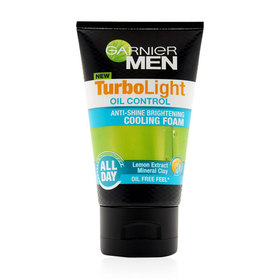 Garnier Men Turbolight Oil Control Cooloing Foam 100ml