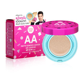 Cathy Doll AA Matte Powder Cushion Oil Control SPF50 PA+++15g #21 Light Beige