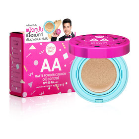 Cathy Doll AA Matte Powder Cushion Oil Control SPF50 PA+++ 15g #23 Natural Beige