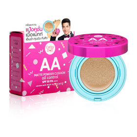 Cathy Doll AA Matte Powder Cushion Oil Control SPF50 PA+++ 15g #24 Medium Beige