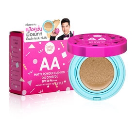 Cathy Doll AA Matte Powder Cushion Oil Control SPF50 PA+++ 15g #26 Honey Beige