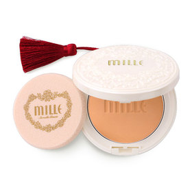 Mille Super Whitening Gold Rose Pact SPF48 PA++ #2 Natural