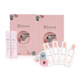 Bloss Jeli Dietary Supplement Glow Radiant Booster (14 sachet x 2 Boxes) Free! Jeli (25g x 2 sachet) + Emulsion (1ml x 4 sachet)