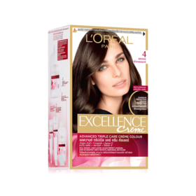 LOreal Paris Excellence #No.4 NATURAL BROWN