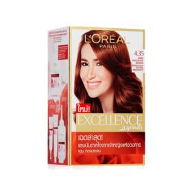 LOreal Paris Excellence 260g #No.4.35 Dark Caramel Brown