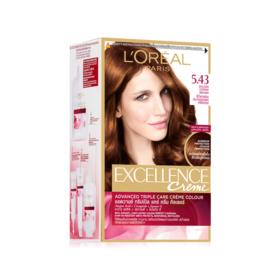LOreal Paris Excellence 260g #No.5.43 Dark Golden Copper