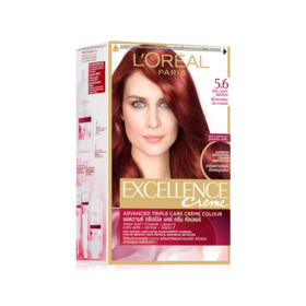 LOreal Paris Excellence 260g #5.6 Light Red Brown