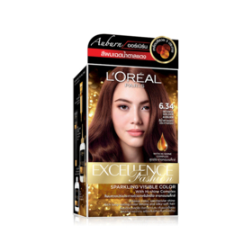 LOreal Paris Excellence Fashion Auburn 260g #6.34 Intense Golden Auburn