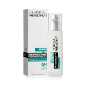 LOreal Paris Men Expert Hydra Sensitive Birch Sap Milky Lotion Daily Protecting 110ml