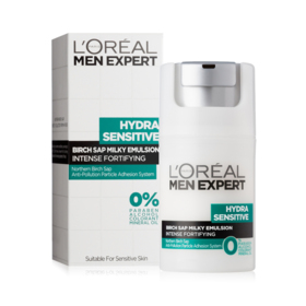 LOreal Paris Men Expert Hydra Sensitive Birch Sap Milky Emulsion Intense Fortifying 50ml