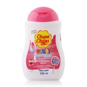 Chupa Chups Kids Bath & Shower 250ml #Strawberry Milk