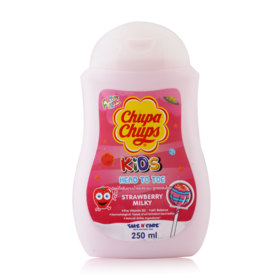 Chupa Chups Kids Head To Toe 250ml #Strawberry Milk