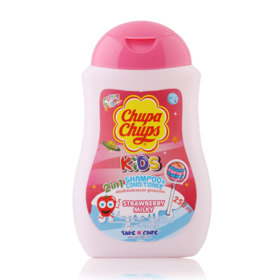 Chupa Chups Kids 2IN1 Shampoo & Conditioner 250ml #Strawberry Milk