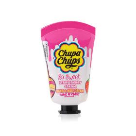 Chupa Chups So Sweet Hand & Nail Cream 30ml #Strawberry Cream