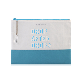Laneige Drop After Drop Middle Zipper Bag (Medium)