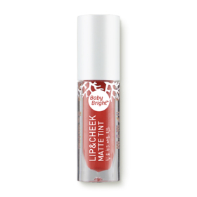 Baby Bright Lip & Cheek Matte Tint 2.4g #05 Just Peach