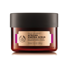 The Body Shop Spa Of The World™ African Ximenia Scrub 350ml