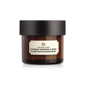 The Body Shop Chinese Ginseng & Rice Clarifying Polishing Mask 75ml