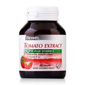 Bewel Tomato Extract Plus Vitamin E 60mg 45 Capsules
