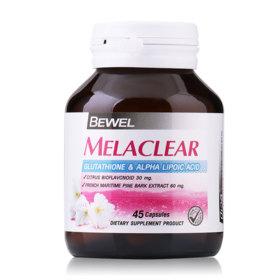 Bewel Melaclear Glutathione&Alpha Lipoic Acid 45 Capsules