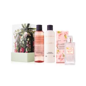 Yves Rocher Christmas Gift Set Comme Une Evidence Set 3 Items (Shower Gel 200ml + Body Lotion 200ml + Eau De Perfume 50ml)