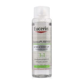 Eucerin Dermo Purifyer Ance & Make-Up Cleanaing Water 3 in 1 Acne Solution 400ml