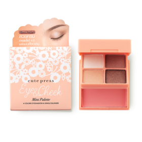 Cute Press Eye & Cheek Mini Palette #01 Moonlight