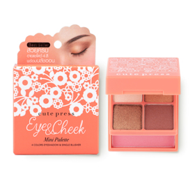 Cute Press Eye & Cheek Mini Palette #02 Sunset