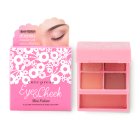 Cute Press Eye & Cheek Mini Palette #03 Sunrise