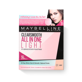 Maybelline Clear Smooth Pressed Powder #Light