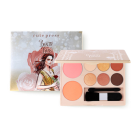 Cute Press Beauty and The Beast True Beauty Palette #01 Intelligent Beauty