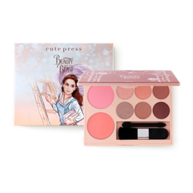 Cute Press Beauty and The Beast True Beauty Palette #02 Enchated Beauty