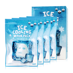 IntoSkin Ice Cooling Mask Pack (25gx4)