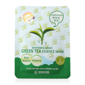 Skindigm Whitening Magic Green Tea Essence Mask 26ml
