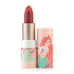 Cute Press The Little Mermaid Marine Magic Collagen Lipstick 3.7g #03 Elegant Attina