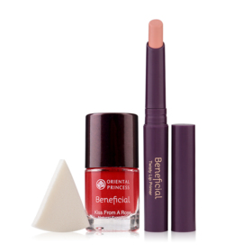 Oriental Princess Beneficial Set 2 Items (Kiss From A Rose Natural Face Tint 9ml #02 + Twisty Lip Primer 2.5g #01 )