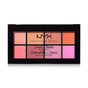 NYX Professional Makeup Sweet Cheeks Blush Palette #SCBP01