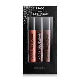 NYX Professional Make Up Liquid Suede Cream Lipsticks Set 06