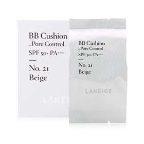 Laneige BB Cushion Pore SPF50+ PA+++ 5g #21 Beige