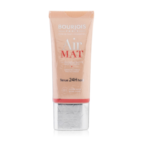 Bourjois Air Mat Tenue 24H Foundation 30g #01 Ivoire Rose Rose Ivory
