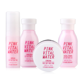 Etude House Pink Vital Water Special Trail Kit (4 Items)