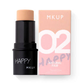 MKUP Happy Makeup Day Foundation #02 Natural Fair