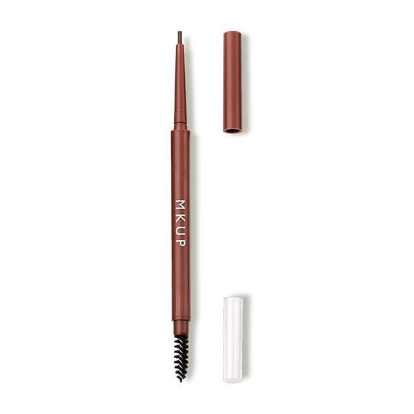 MKUP Super Waterproof Eyebrow Pencil #02 Dark Brown