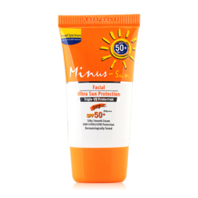 Minus-Sun Facial Ultra Sun Protection SPF50+/PA+++ 15g #Ivory