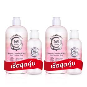 ซื้อ1แถม1 Nu Formula Mineral Cleansing Water for Sensitive Skin (510ml+100ml x 2 Set)