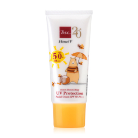 Honei V Bsc Sweet Honei Bear UV Protection Facial Cream SPF50+/PA++ 30g